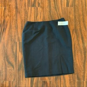 Kasper Black Pencil Skirt